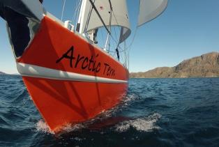 Greenland fjord sailing